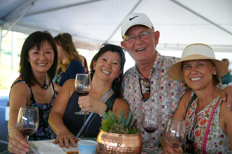 COURTESY PHOTO - Organizer Jill Crecraft says there'll be 'something for everyone' at the Vine & Dine Wine Festival on Aug. 20