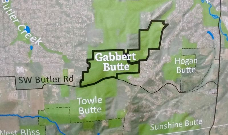 OUTLOOK PHOTO: CHRISTOPHER KEIZUR - The 150-acre Gabbert Butte Nature Park will be gaining new amenities to help the public better access the trails.