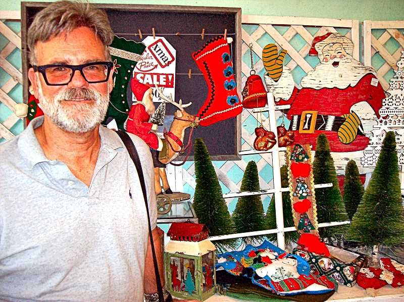 RITA A. LEONARD - Co-owner Brent Heeb is closing Stars Too Antiques in Westmoreland, which started as a pop-up Christmas shop five years ago; but his nearby Stars Mall continues.