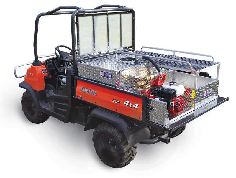 COURTESY PHOTO - By Oct. 1, Banks Fire Department will have a Utility Vehicle similar to this one but including a hose and a stretcher.