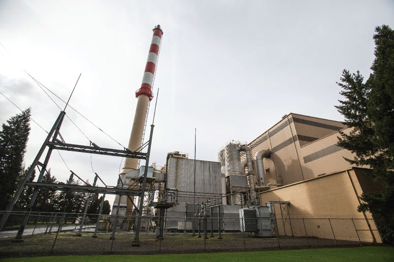 TRIBUNE PHOTO: JONATHAN HOUSE - The exterior of the Covanta waste-to-energy plant in Marion County.