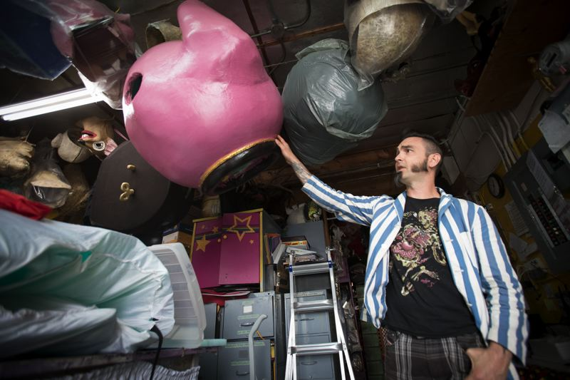 TRIBUNE PHOTO: JAIME VALDEZ - Helen's Pacific Costumers has thousands of costumes in stock, and continues to help local theater programs. Employees have until Aug. 31 to raise enough for a down payment to keep the costumes.