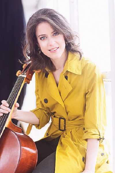 COURTESY PHOTO - Elinor Frey, cellist