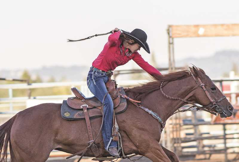 FILE PHOTO - Washington County Fair events include a rodeo at 7 p.m. Thursday night.