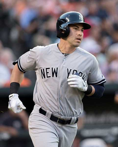 KEITH ALLISON/CREATIVE COMMONS - Jacoby Ellsbury, 33, was relegated to a bench role in a four-game series last weekend against the Seattle Mariners. After starting Thursday in center field, Ellsbury appeared only as a pinch runner in the following three games.