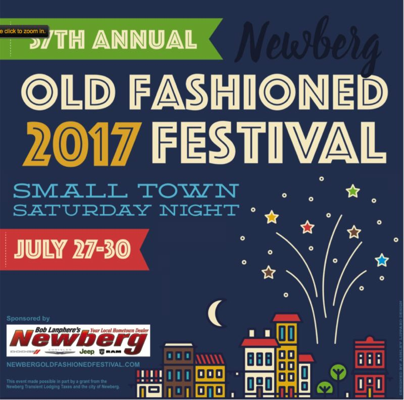 (Image is Clickable Link) Old Fashioned Festival 2017 Newberg