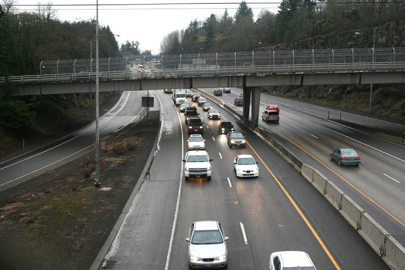 TIDINGS FILE PHOTO - I-205  is one of the metro-area freeways targeted for possible tolls.