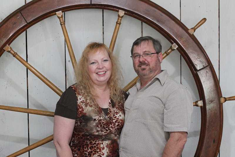 SPOKESMAN PHOTO: ANDREW KILSTROM - Cindy Batten and John Krause knew the Butteville General Store was the perfect place for their wedding mere minutes after walking in the door.