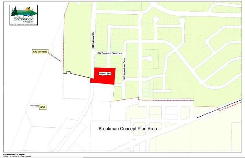 COURTESY OF THE CITY OF SHERWOOD - The Sherwood City Council has approved the annexation of 2.21 acres of property in the Brookman Road area into the city of Sherwood.