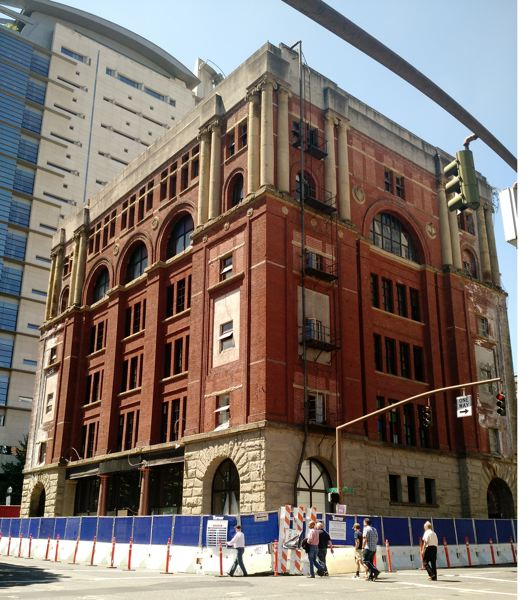 PAMPLIN MEDIA GROUP: JULES ROGERS - The Workmen Temple is the largest historic building to come down in the city since the 1980s.