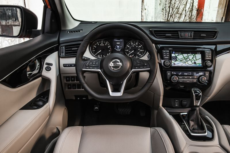 COURTESY NISSAN-USA - All versions of the 2017 Nissan Rogue feature a 7-inch color touchscreen and can be ordered with the latest automotive technologies.
