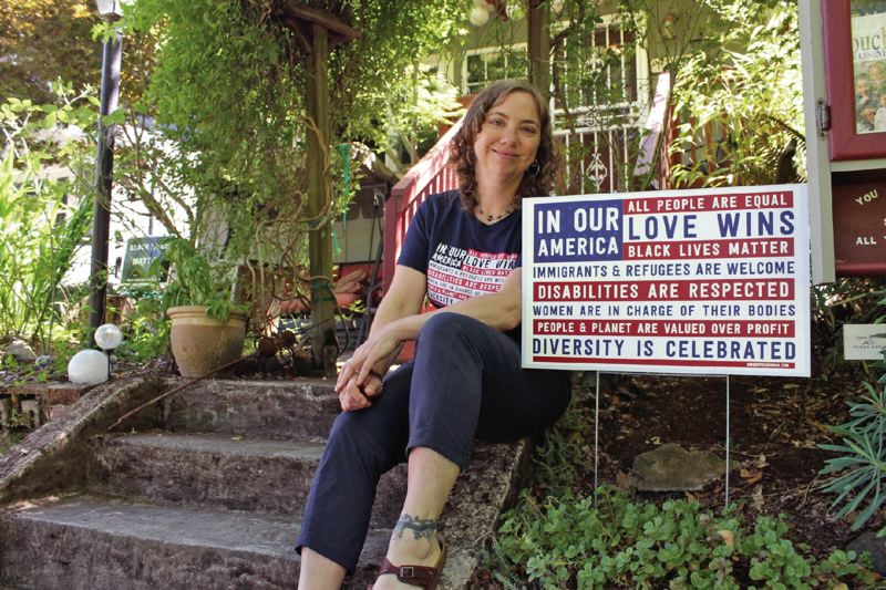 PORTLAND TRIBUNE: LYNDSEY HEWITT - Ali King, president of Nasty Women Get Shit Done PDX, said she 'needed to do something to get through the next four years,' following the election of Donald Trump. Nasty Women is now a non-profit that raises funds and donates them to charitable causes.