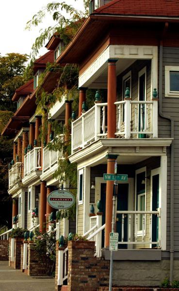 PORTLAND TRIBUNE FILE PHOTO - More row houses like these could be built under the new 'missing middle' housing policy whose final vote has been delayed.