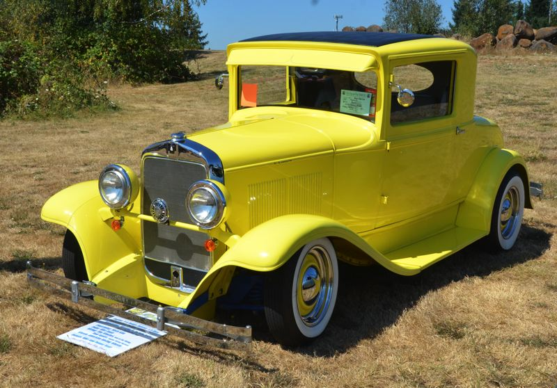 SUBMITTED PHOTO - This 1930 Plymouth hot rod was part of last year's show on the campus of Clackamas Community College in Oregon City.