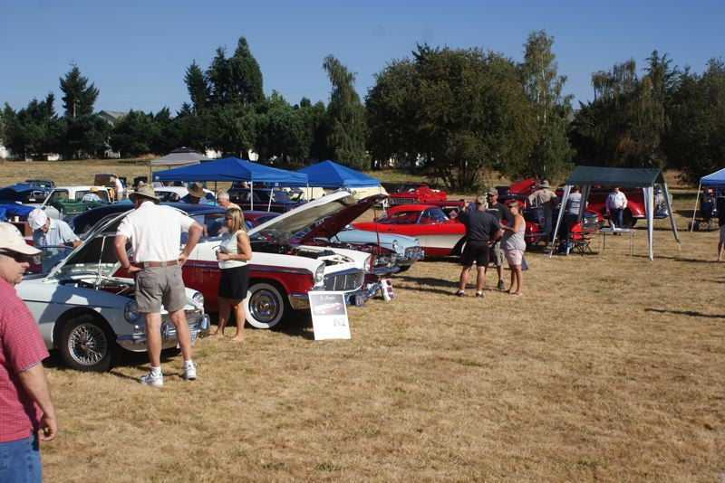 SUBMITTED PHOTO - Last year's Cascade Pacific Plymouth Club at Clackamas Community College hosted a variety of vehicles, not just Plymouths.
