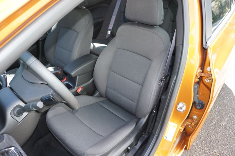 PORTLAND TRIBUNE: JEFF ZURSCHMEIDE - Inside, the Cruze offers enough driver space for a six-foot man, and while the back seat is not huge, it'll do for short hops.