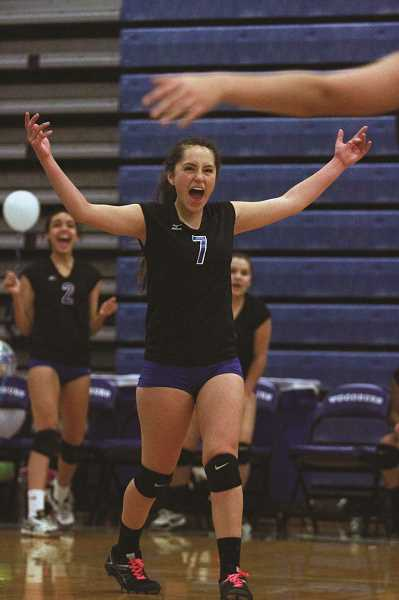 INDEPENDENT FILE PHOTO - A move to the 4A classification would give struggling programs like the Woodburn volleyball team an opportunity to play against schools that more closely align with its skill level.