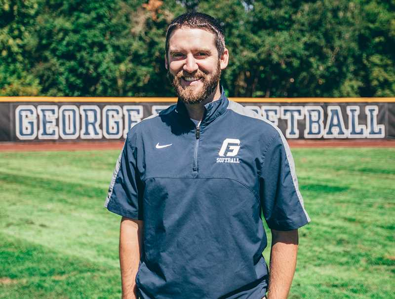 PHOTO COURTESY OF GFU - George Fox University announced the hiring of Jim Bray as an assistant softball coach last week. The former Lewis & Clark softball assistant spent the last four years as an assistant baseball and women's basketball coach at Transylvania University in Lexington, Ky.