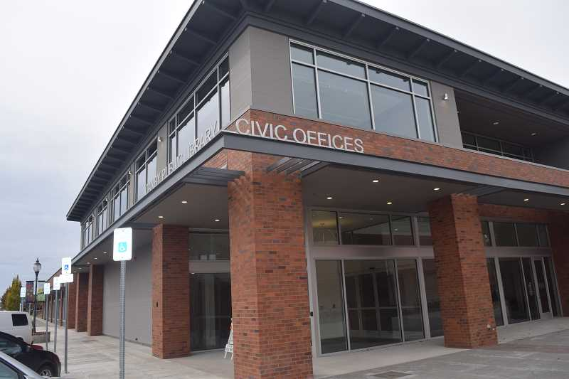 STOCK PHOTO - Canby City Hall is home to the city council chambers.