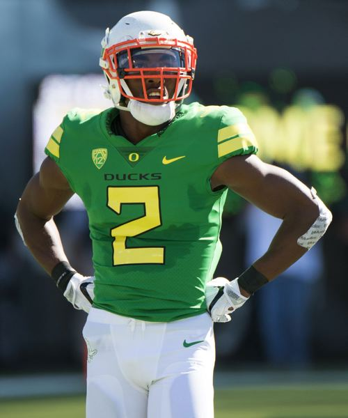 TRIBUNE FILE PHOTO: JOSH KULLA - Defensive back Tyree Robinson and the Oregon Ducks are putting in the August training camp work they hope will help them turn things around after a 4-8 season.