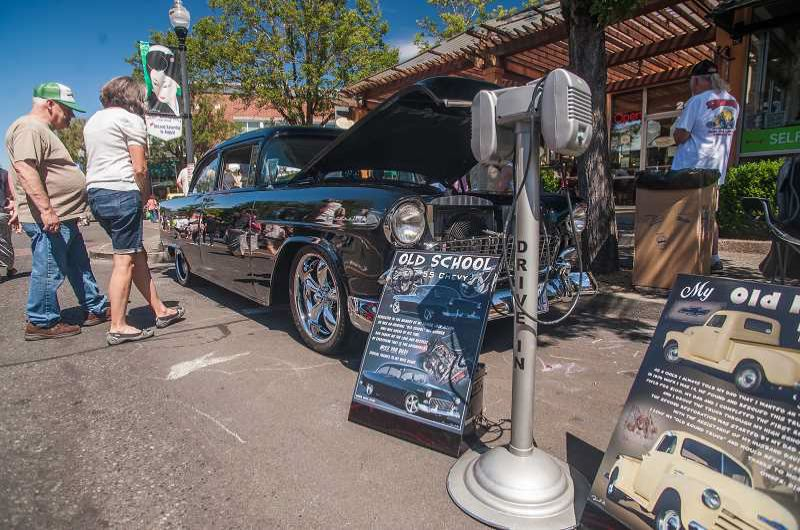 FILE PHOTO: JOSH KULLA - Rockin' Round the Block unites all types of car enthusiasts in downtown Gresham for annual event.