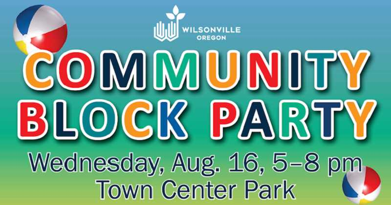 SUBMITTED PHOTO - The Community Block Party will cater to guests of all ages, offering free food and activities.