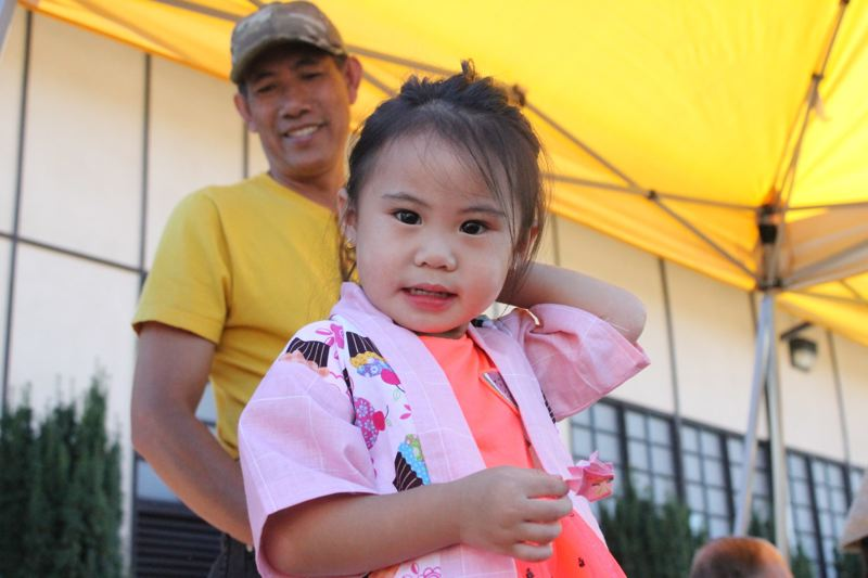 PAMPLIN MEDIA GROUP: LYNDSEY HEWITT - Portland's Obon 2017 was a family affair. The annual festival attracted several hundred people Saturady, Aug. 5.