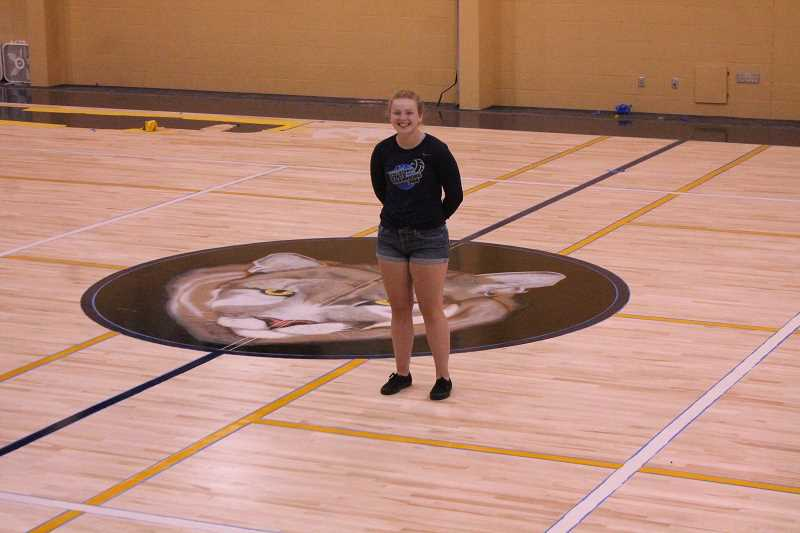 PIONEER PHOTO: CONNER WILLIAMS  - Country Christian senior Meghan McGrath has a shot at history: winning four state championships in high school with the Cougars' volleyball team. But before she gets back on the court, she has some work to do as she finishes up her rehab process after having ACL reconstruction surgery in March.