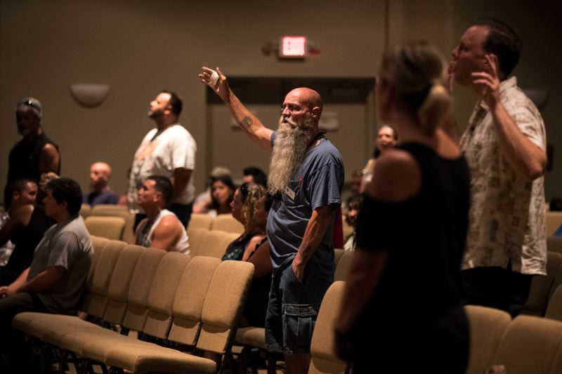 PORTLAND TRIBUNE: JAIME VALDEZ - The afternoon Sunday service at Sonrise Church in Hillsboro focuses on redemption, with most of its attendees ex-convicts. Sonrise is the first large church in the country to welcome registered sex offenders to worship.