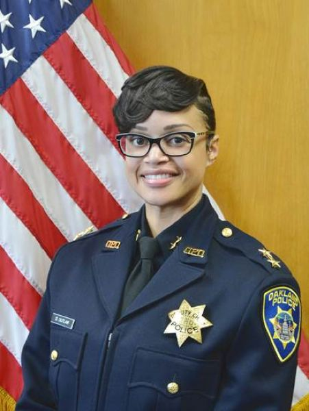 CITY OF PORTLAND - Portland's new police chief, Danielle Outlaw, 41, has been picked to replace incumbent Mike Marshman.