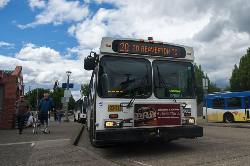 FILE PHOTO - TriMet will have a new process that will decriminalize any citation received on public transit.