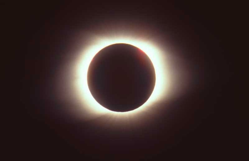 FILE PHOTO - The eclipse is running its swath through the north section of Central Oregon.