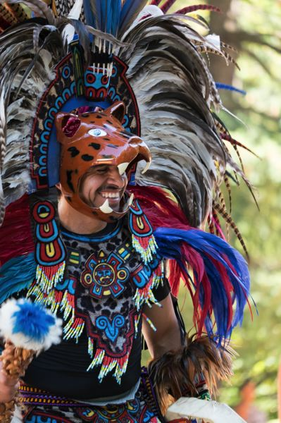 COURTESY PHOTO - Aztec dancers are a popular feature at the Nadaka Nature Park Community Festival every year.