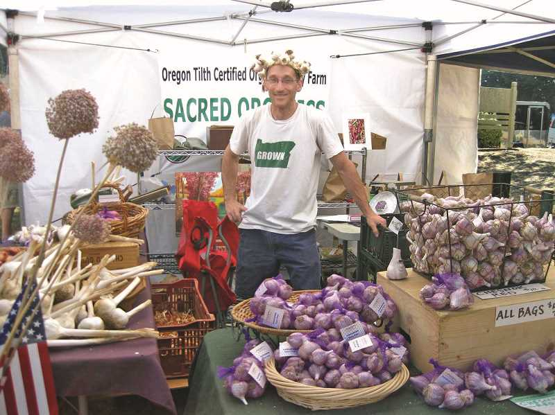 FILE PHOTO - It's all about the garlic this weekend in North Plains.
