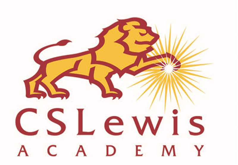 SUBMITTED RENDERING - George Fox University professor Jeff Cameron's design for C.S. Lewis Academy's new logo combines an Aslan-inspired lion with a light source?, which both represents the school's Watchmen nickname and Christian theology.