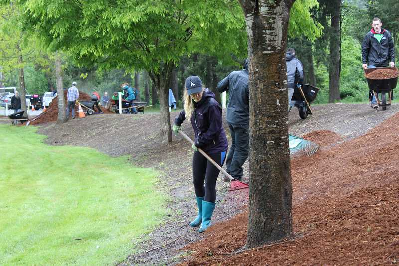 SPOKESMAN FILE PHOTOS - The Wilsonville Parks Master Plan survey showed that residents find local parks to be well-maintained.