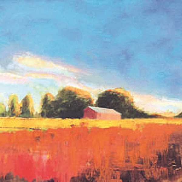 COURTESY PHOTO - A painting by Eveleigh featuring a local field