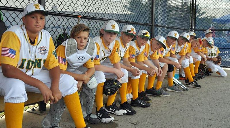 SUBMITTED PHOTO - The West Linn 12U all-stars take a break to pose for a team photo before a game in the Cal Ripken World Series in Branson, Mo.