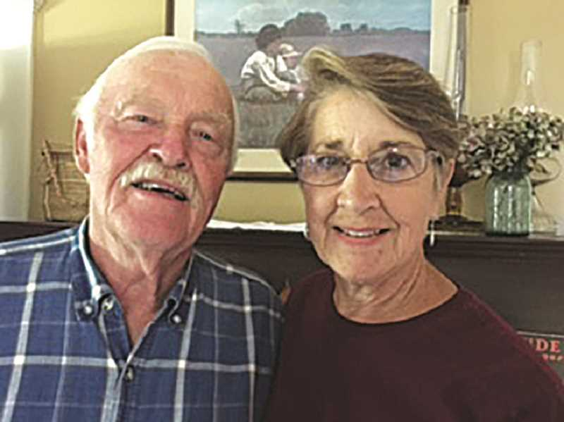 SUBMITTED PHOTO - Barb and Arnie Mitchell will be the king and queen of this year's Aurora Colony Days parade.