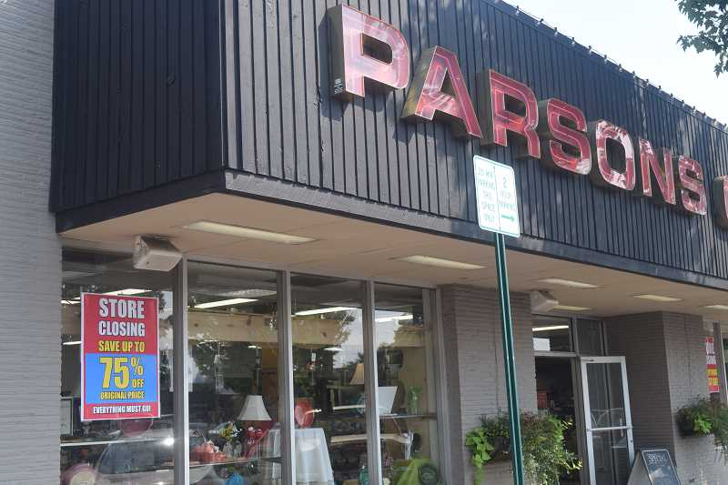 DANIEL PEARSON - Parson's Canby Pharmacy, established in 1954, is one of three downtown business closing this month.