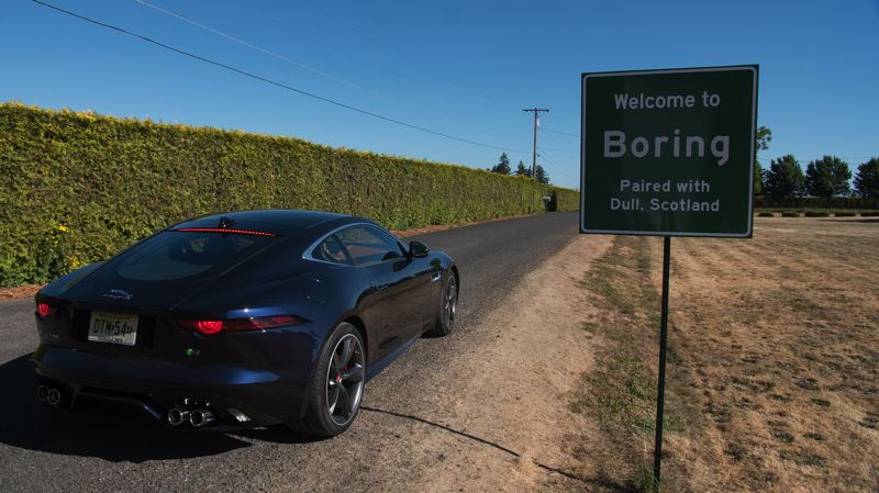 CONTRIBUTED PHOTO: FIRWOOD STUDIOS - The latest Jaguar commercial will feature the pairing of Boring, Ore., and Dull, Scotland.
