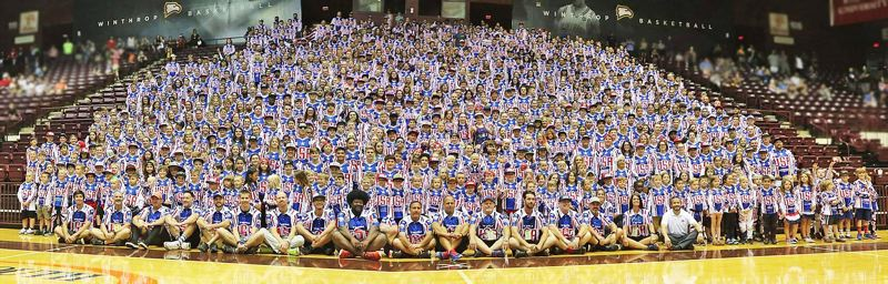 PHOTO COURTESY: WENDI SMITH WORLITZ - All of the American riders from every age class gather for a picture.