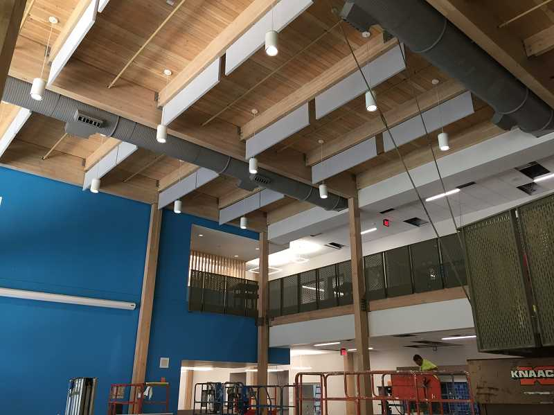 SUBMITTED PHOTO - The inside of Sunset Primary is getting close to completion and is on track to be completely finished before the first day of school Aug. 29.