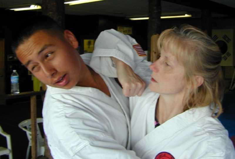 COURTESY PHOTO - Doug Tesdal and Susan Klaumann will be offering a free women's self-defense class starting Tuesday, Aug. 15, at Kim's Taekwon-do in Forest Grove.