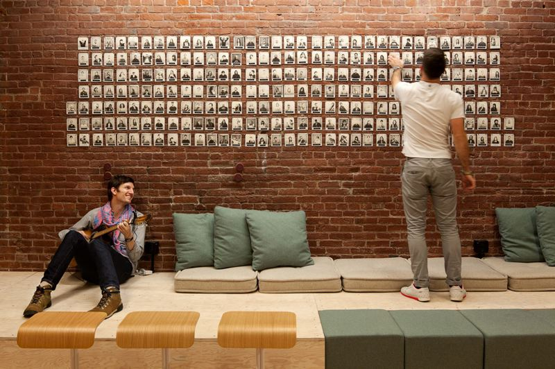 TRIBUNE FILE PHOTO  - A peek inside Airbnb's North American operational headquarters in Portland's Old Town/Chinatown. Nearly 350 people work for the company here.