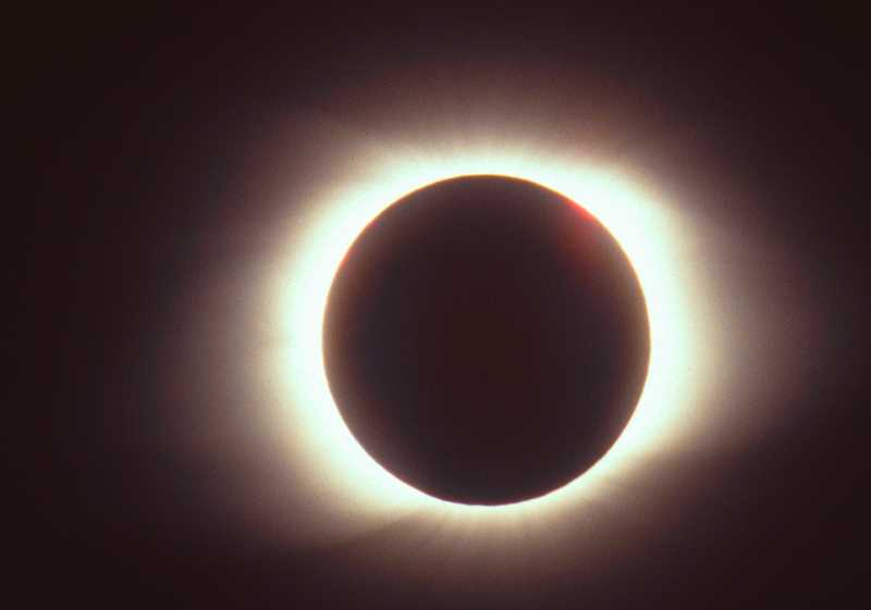 INTERNET PHOTO - Solar eclipse