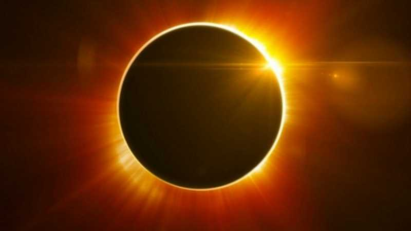 SUBMITTED PHOTO - Wilsonville is just north of the path of totality, making it a hot spot for eclipse chasers.