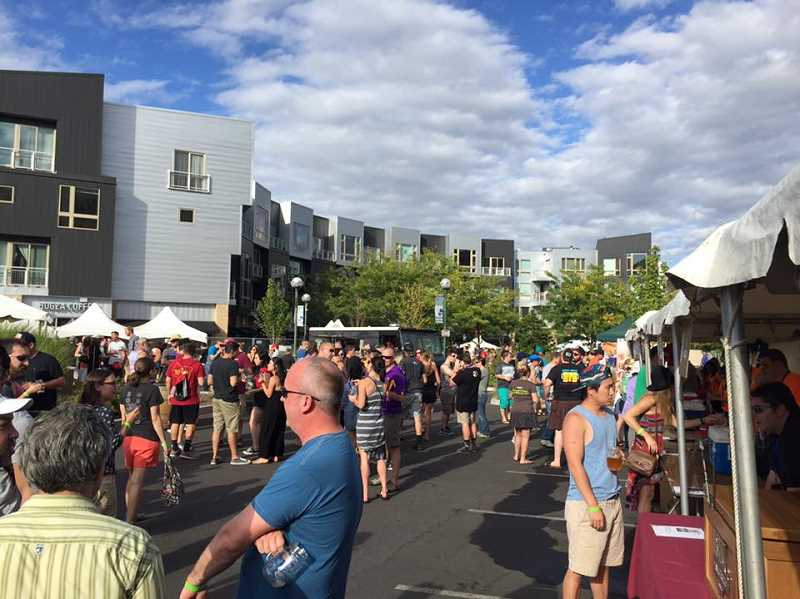 COURTESY BEAVERTON CRAFT BEER FESTIVAL - The Beaverton Craft Beer Festival, held at The Round, will include 50 beers and ciders from 25 breweries this year.