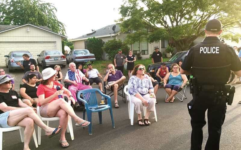 COURTESY PHOTO - Police Chief Ernie Roberts says public involvement is important in fighting modernday crime.