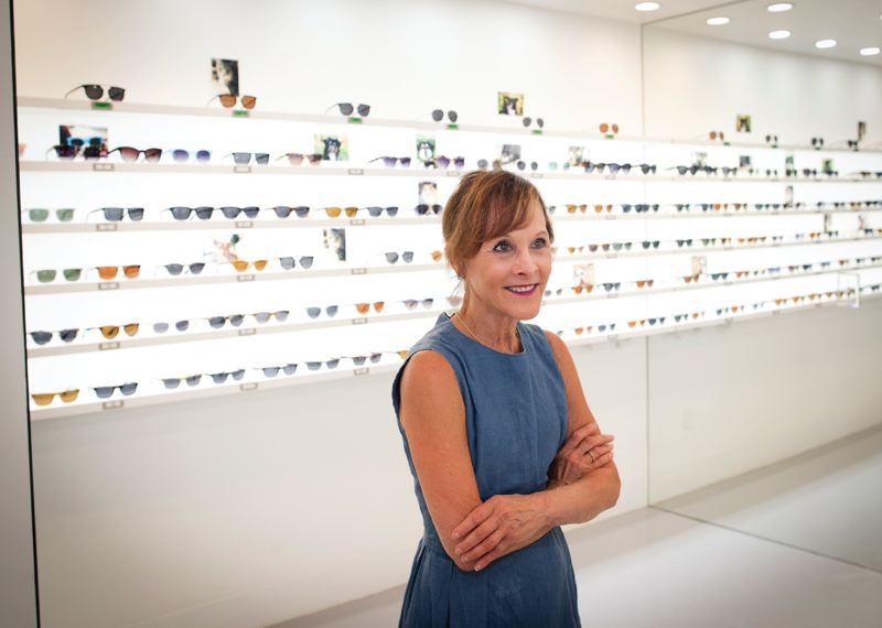 PAMPLIN MEIDA GROUP: JAIME VALDEZ - Ann Sacks designed the interior of this store, as she has designed tiles, eyewear and interiors before.  Her empire extends to real estate, from the Pearl District to the Suttle Lodge & Boathouse near Black Butte.